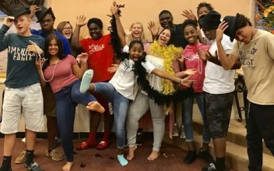 Teens from E.N.D. It! preparing Nov. 4 mystery dinner theater presentation of 'Bye-Bye Betty' in Port St. Lucie