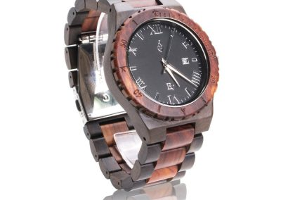 Koa+Wood+Watch